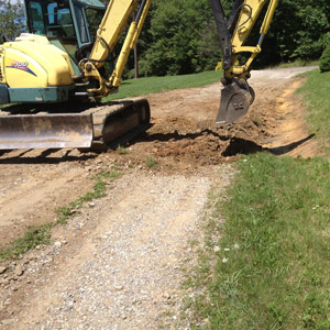 Driveway Drainage, Tree Root Service